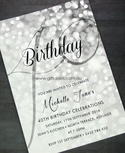 40th-birthday-invite-sparkle