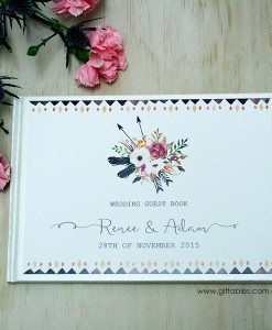 Personalised-guest-book-BOHO