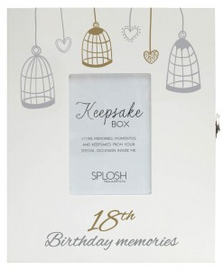 keepsake box 18th F
