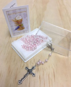 pink-rosary-beads-with-leaflet