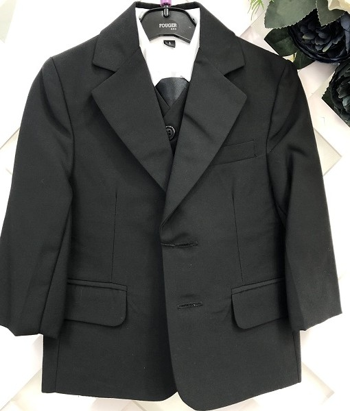 Boys Black Suit