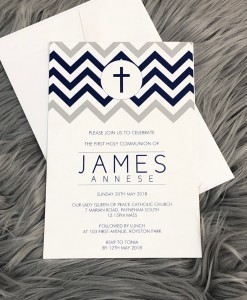 Christening Invitation James