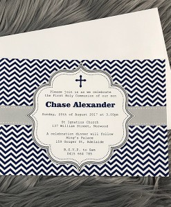 Communion Invitation Chase