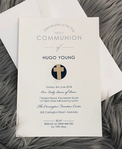 Communion Invitation Hugo