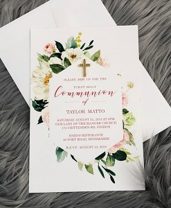 Communion Invitation Taylor