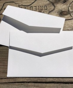 Envelopes 5x7 marshmallow white