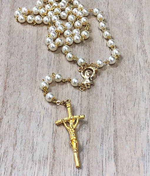 Rosary-Beads-Pearl-&-Gold