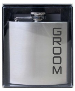 WD070 Groom Hip Flask