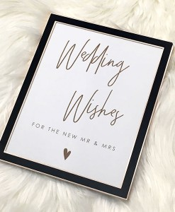 Wedding-Wishes-Frame-Black-Rose-Gold