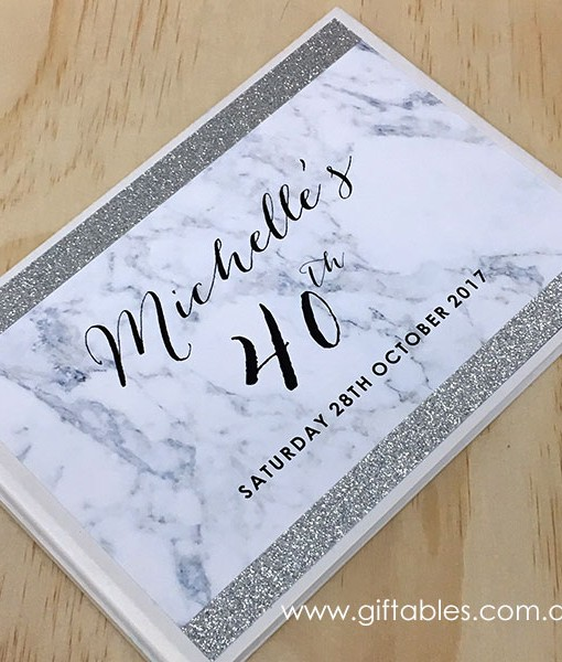 birthday-guest-book-marble-glitter-silver-2