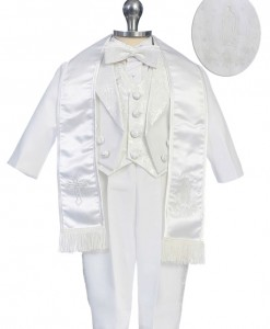 boys suit embroidered