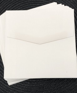 envelope 130sq marshmallow wh