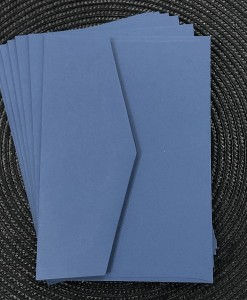 envelope 5x7 Royal Blue
