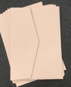 envelope 5x7 blush