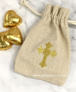 favour-bag-hessian-gold-cross