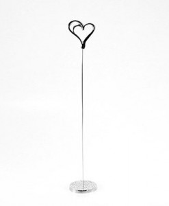 heart table stand