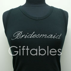 bridesmaid-tank-black