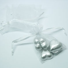 white-organza-bag