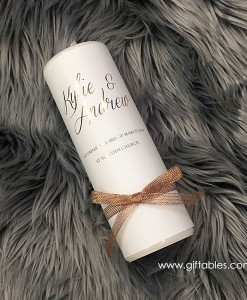 personalised-wedding-candle-kylie-andrew