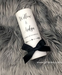 personalised-wedding-candle-willow-aidyn