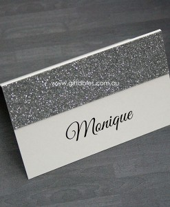 place-card-silver-glitter