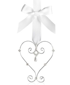 wedding charm heart 625S