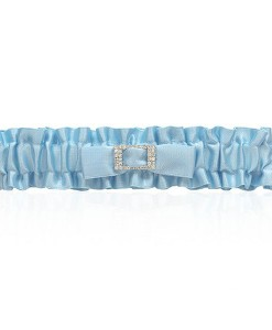 wedding-garter---blue-satin